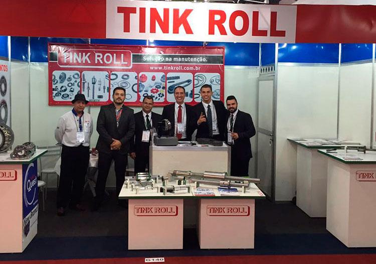 Estande da Tink Roll na 31ª Feira Internacional da Mecânica 2016